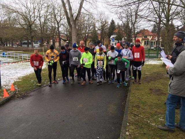 Start des Crosslauf 2018