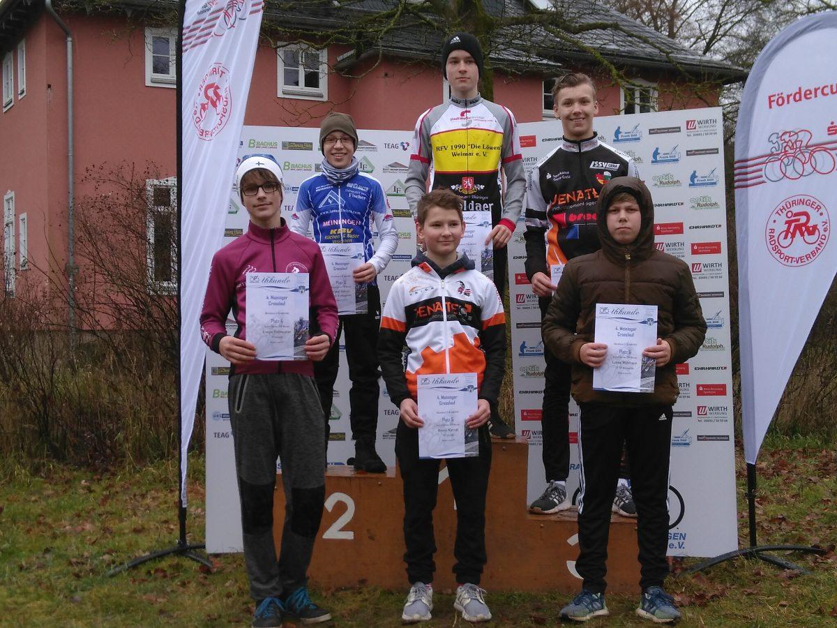 Nachwuchslöwen beim Crosslauf in Meiningen